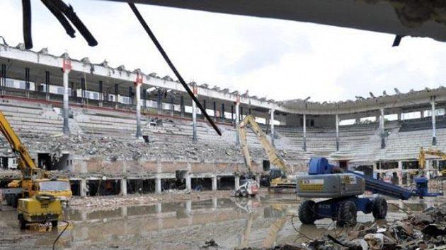 Současná podoba zimního stadionu Ondreje Nepely v Bratislavě
