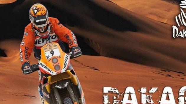 Obálka knihy Dakar 2009 Legenda pokračuje autorů Petra Luska a Ladislava Lály.