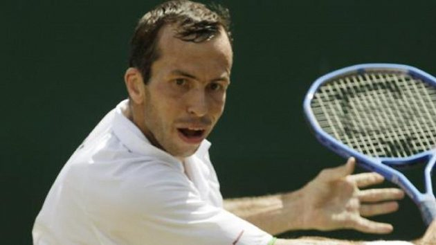 Český tenista Radek Štěpánek