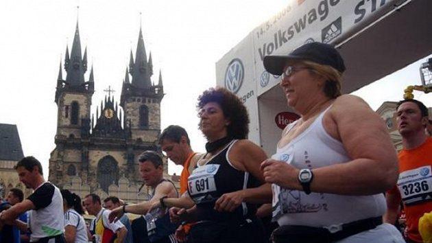 Start Pražského mezinárodního maratónu