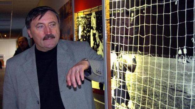 Antonín Panenka při otevírání fotbalové síně slávy v Praze na Strahově.