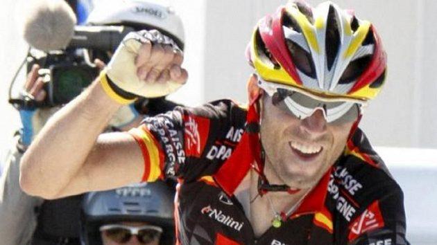 Španělský cyklista Alejandro Valverde.
