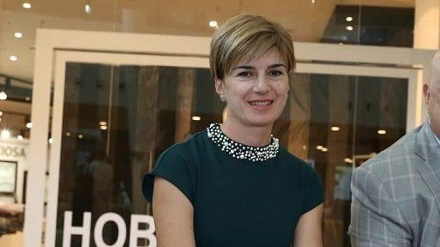Prezidentka Bulharské biatlonové federace Jekatěrina Dafovská.