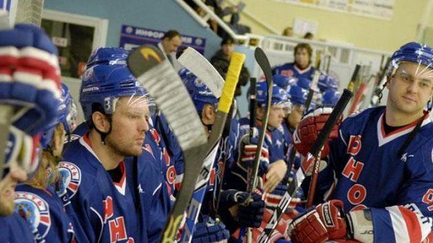 Hokejisté běloruského klubu Junosť Minsk