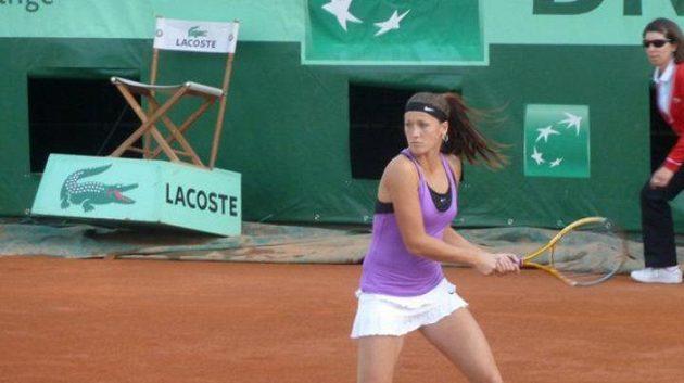 Srbská tenistka Bojana Jovanovská
