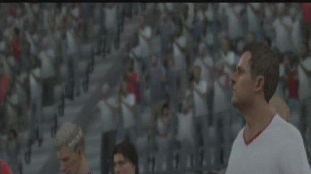 Podívejte se, jak by dopadlo veledůležité kvalifikační utkání podle FIFA 10.