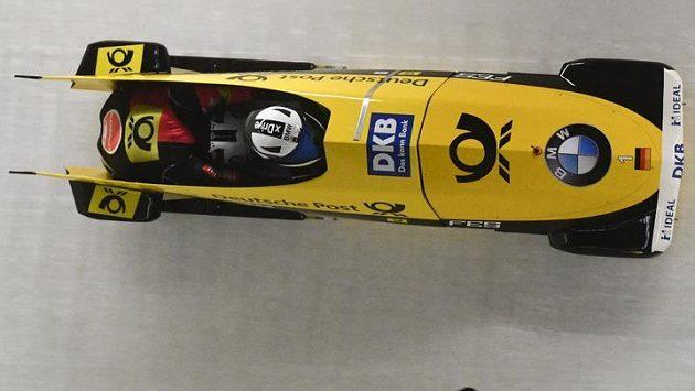 Britský bobista Bruce Tasker prodělal mrtvici a přijde o účast na olympijských hrách v Pchjongčchangu (ilustrační foto).