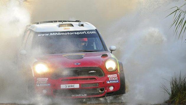 Daniel Sordo s vozem Mini John Cooper Works WRC.