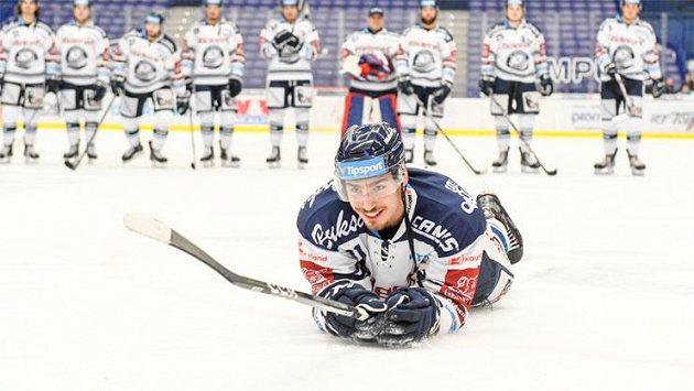 Hokejový útočník Dominik Lakatoš