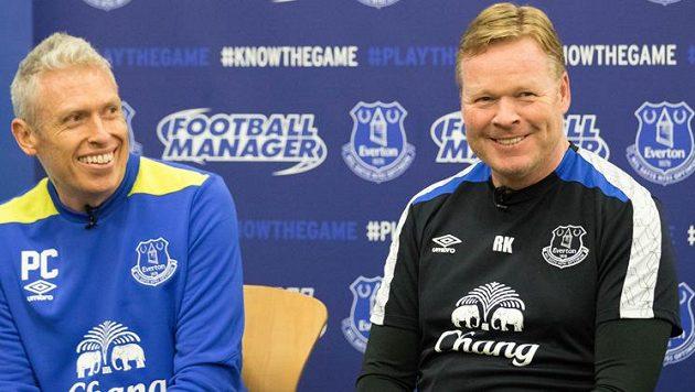 Manažer Evertonu Ronald Koeman přijal výzvu fanouška a dal si s ním virtuální fotbalový zápas. Prohrál 2:3