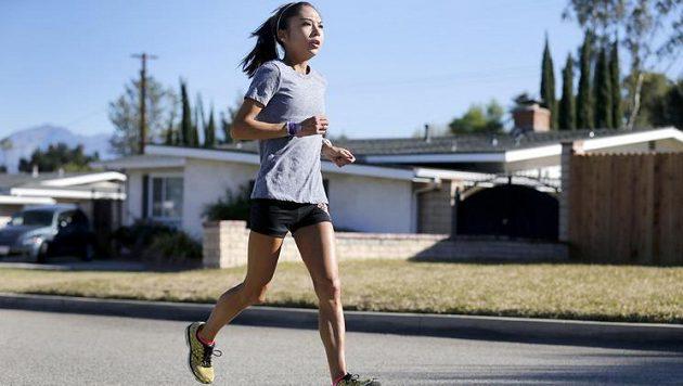 Lenore Morenová trpí na anafylaktické problémy, přesto běhat nepřestává.