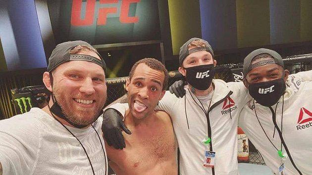 Jordan Leavitt premiéru v UFC zvládl.