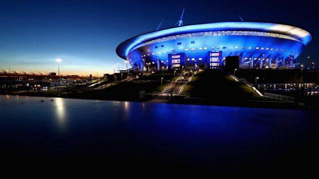 Stadion v Petrohradu dost možná o EURO 2020 přijde.