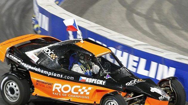 Rallyeový jezdec Jan Kopecký se jako první Čech v historii představil mezi hvězdami různých odvětví motorsportu v Düsseldorfu.