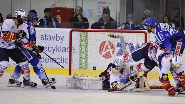 Vítězný gól Brna ve třetím finálovém duelu proti Pardubicím.