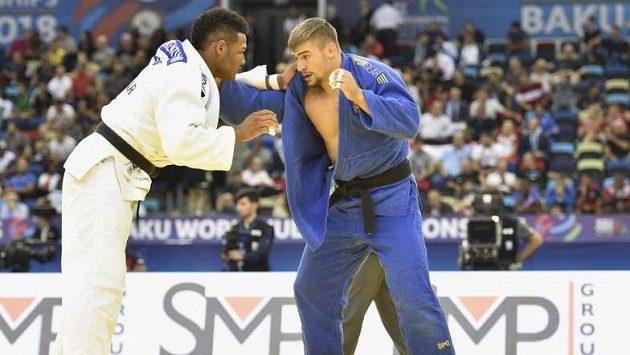 Český judista David Klammert vypadl na mistrovství světa ve třetím kole kategorie do 90 kilogramů.