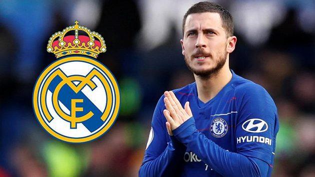 Eden Hazard se netají tím, že hrát za Real Madrid je jeho velkým snem.