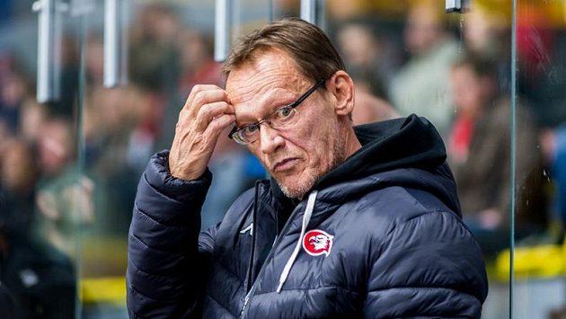 Trenér hokejistů Znojma Miroslav Fryčer.
