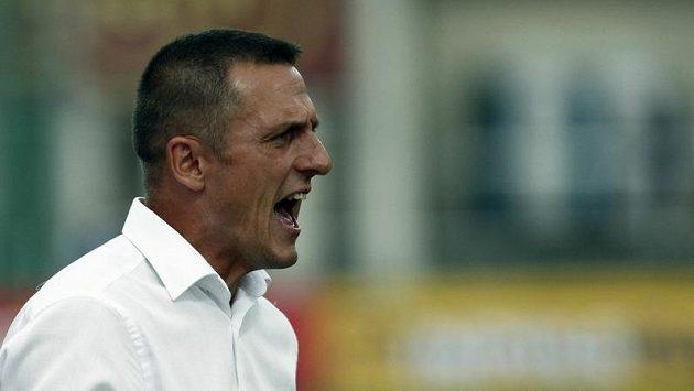 Luboš Kozel, trenér fotbalistů pražské Dukly.