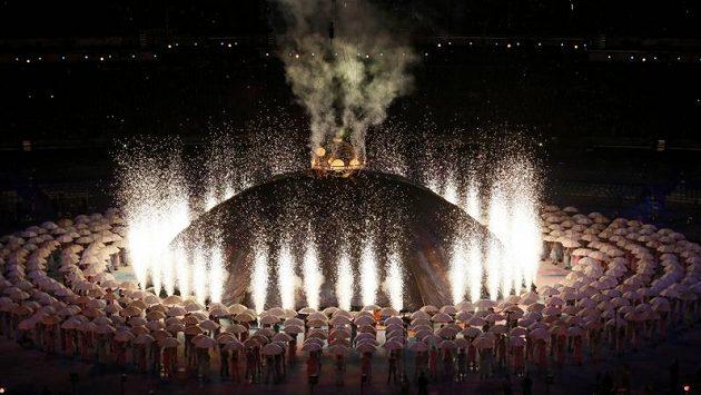 Slavnostní zahájení paralympijských her v Londýně