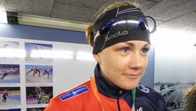 Rychlobruslařka Karolína Erbanová.