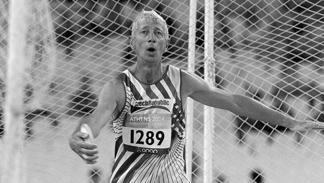 Milan Kubala na snímku z paralympiády v Aténách.
