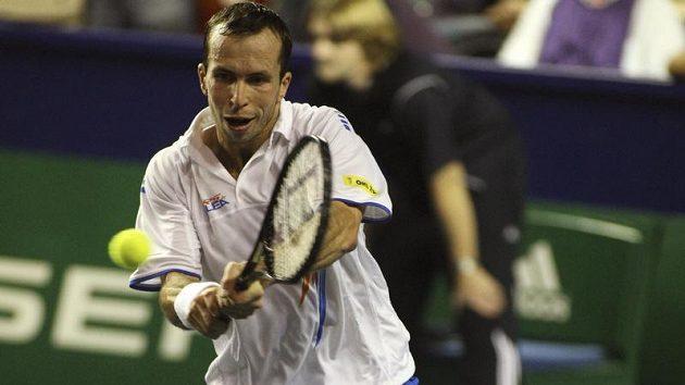 Tenista Radek Štěpánek na turnaji Masters v Paříži