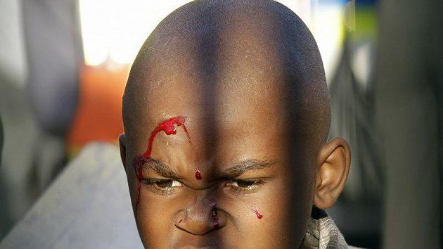 Násilí se v JAR nevyhnou ani malé děti - ilustrační foto.