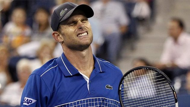 Americký tenista Andy Roddick zápas s García-López skrečoval.