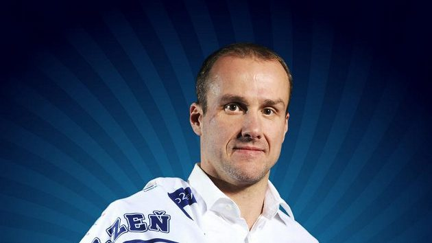 Hokejista Plzně Martin Straka