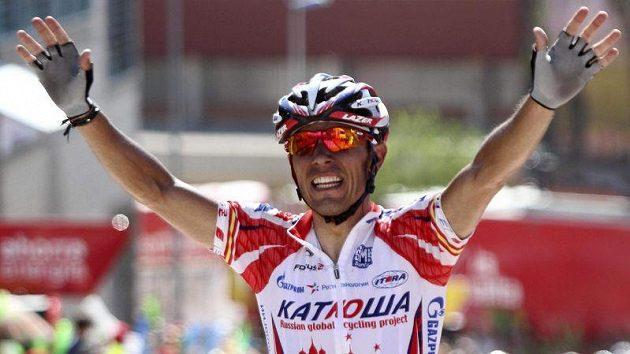 Španěl Joaquin Rodriguez vyhrál pátou etapu Vuelty.