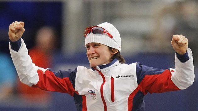 Zlatá Martina Sáblíková z olympiády ve Vancouveru už možná nebude muset trénovat na zamrzlých rybnících na Vysočině.