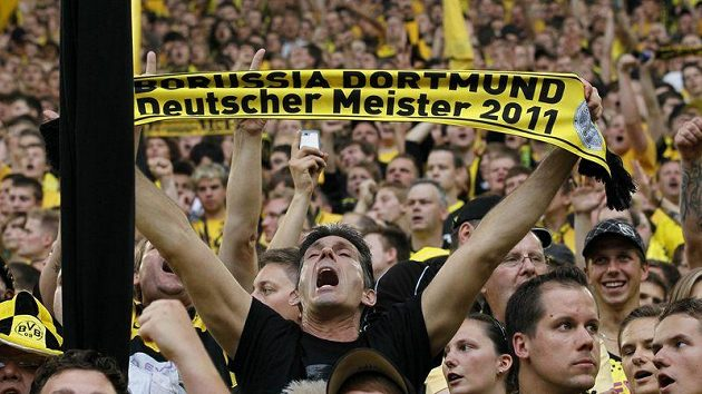 Fanoušci Borussie Dortmund