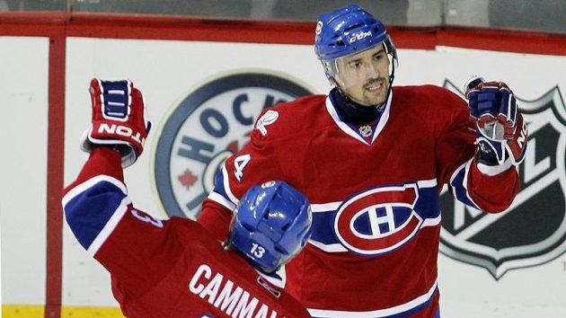 Hokejový útočník Montrealu Tomáš Plekanec