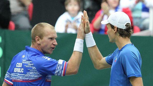 Čeští tenisté příští rok vyzvou doma Itálii.