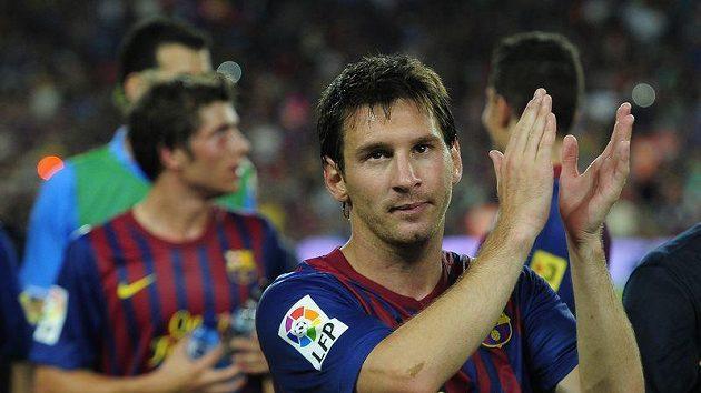 Spokojený Lionel Messi