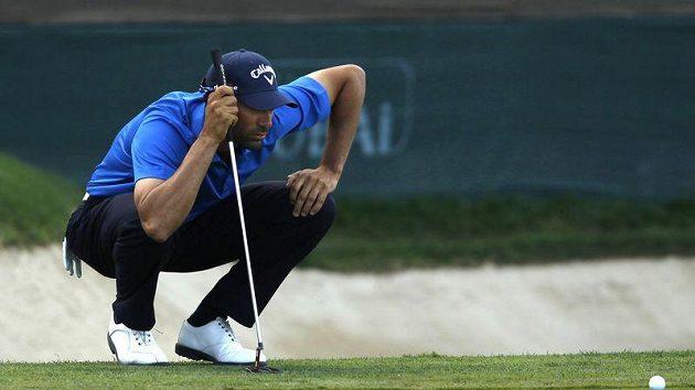 Španělský golfista Alvaro Quiros