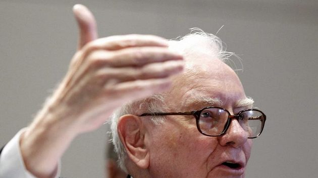 Miliardář Warren Buffet.