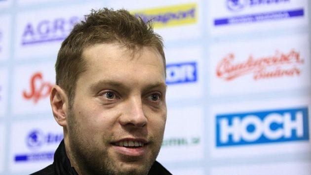 Hokejový útočník Josef Vašíček