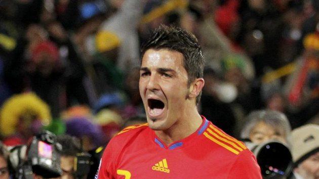 David Villa byl strůjcem vítězství Španělska nad Hondurasem.