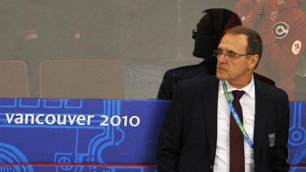 Trenér slovenských hokejistů Ján Filc