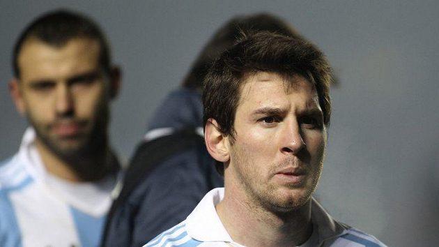 Lionel Messi dres národního týmu nesvlékne.