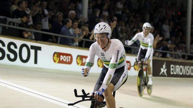 Australan Cameron Meyer je králem kodaňské dráhy.