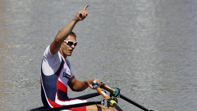Ondřej Synek postoupil do finále MS veslařů