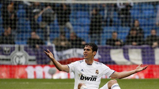 Rozladěný fotbalista Realu Madrid Kaká