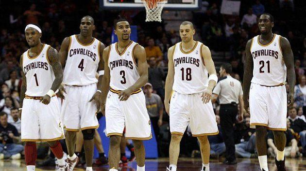 Basketbalisté Clevelandu Cavaliers