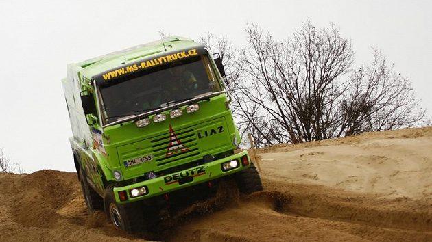 Liaz 4x4 Dakar Marka Spáčila