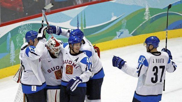 Hokejisté Finska - ilustrační foto.