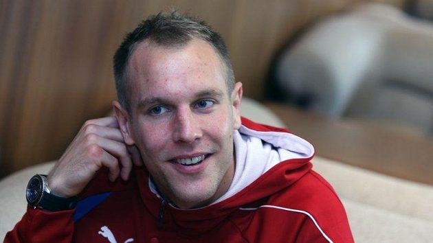 Daniel Kolář na srazu fotbalové reprezentace