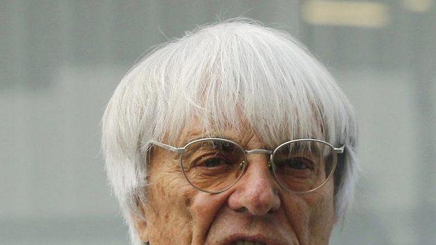 Šéf Formule 1 Bernie Ecclestone